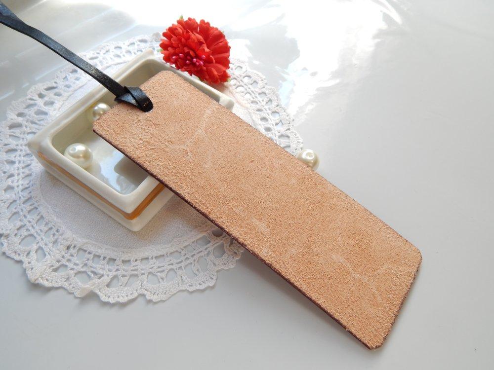 Marque page en cuir