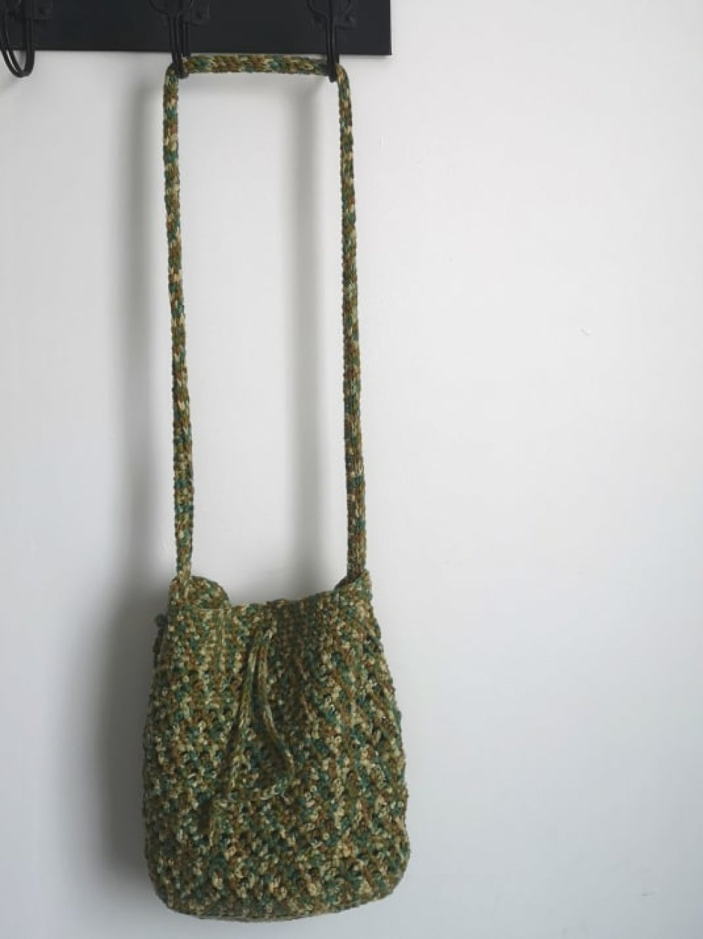 sac seau façon camouflage
