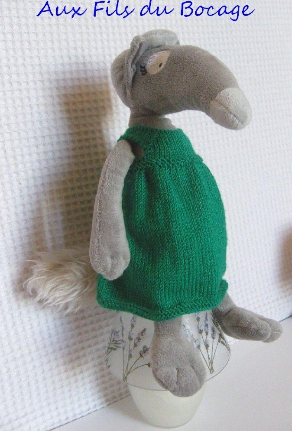 Vêtement pour la louve Auzou, P'tit loup, peluche du loup qui voulait.....
