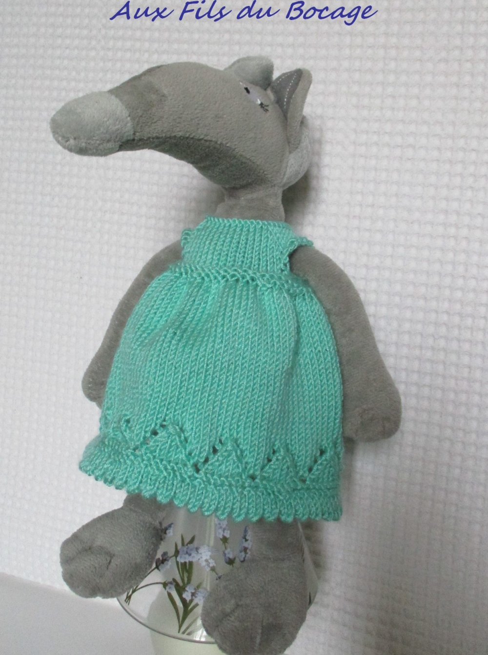 Vêtement pour la louve Auzou, peluche du loup qui voulait.......