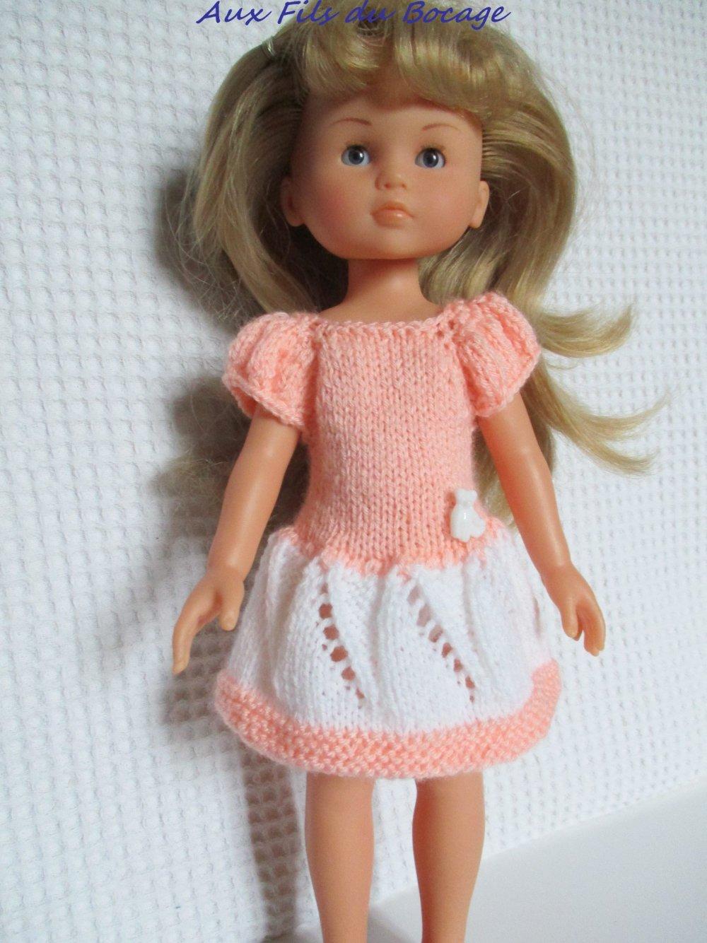 Habit de poupée Les Chéries ou Paola Reina, robe
