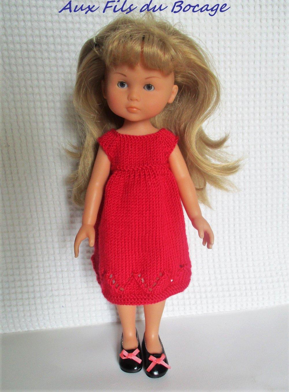 Robe pour poupée Les Chéries, Paola Reina