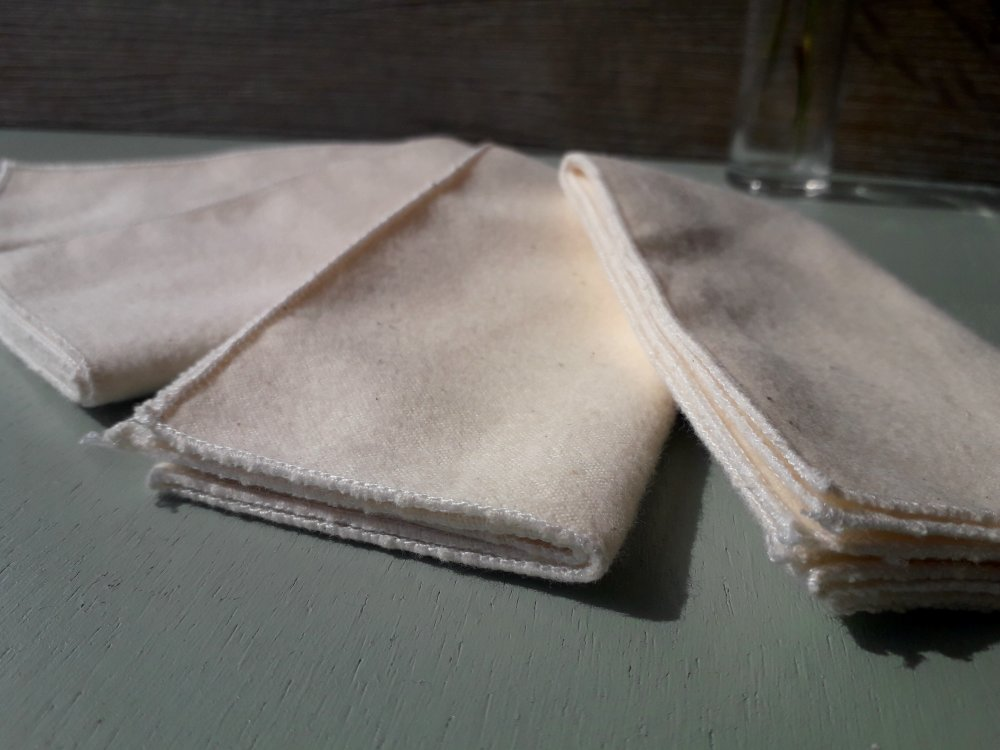 Mouchoirs en tissu BIO