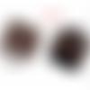 50 fermoirs griffe à pincer 6 mm cuivre