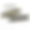 30 fermoirs griffe a pincer 25 mm bronze