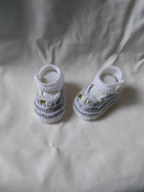 Chaussons bébé forme babies