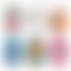 Super maman ☆ 45 images digitales rondes 30 25 et 20 mm mere mamans fete déchire