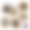 Spécial mamie ☆ 45 images digitales numériques rondes 30 25 et 20 mm page de collage digital pour cabochons