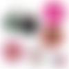 Pour ma mamie ☆ 45 images digitales numériques rondes 30 25 et 20 mm page de collage digital pour cabochons