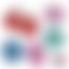 La femme parfaite corps soignant ☆ 60 images digitales numériques rondes 25 et 20 mm et ovales 18*25 et 13*18 mm page de collage cabochon