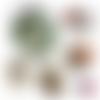 La vie parisienne ☆ 60 images digitales numériques rondes 25 et 20 mm ovales 18*25 et 13*18 page de collage digital pour cabochons