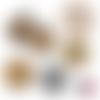 Arbre de vie ☆ 45 images digitales numériques rondes 30 25 et 20 mm page de collage digital pour cabochons