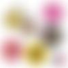 Mère-veilleuse ☆ 45 images digitales numériques rondes 30 25 et 20 mm page de collage digital pour cabochons