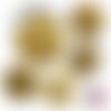 Spécial atsem ☆ 45 images digitales numériques rondes 30 25 et 20 mm page de collage digital pour cabochons