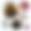 Maître héros de l'année  ☆ 45 images digitales numériques rondes 30 25 et 20 mm page de collage digital pour cabochons