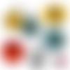 Supercalifragilisticexpialidocious ll ☆ 60 images pour cabochon rond et ovale ø 25 20mm et 18*25 et 13*18mm page de collage digital