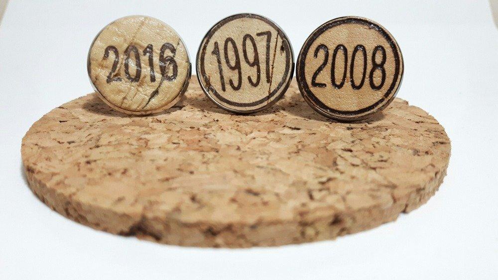 Bague liège, millésime 2015, recyclage bouchon du vignoble bordelais