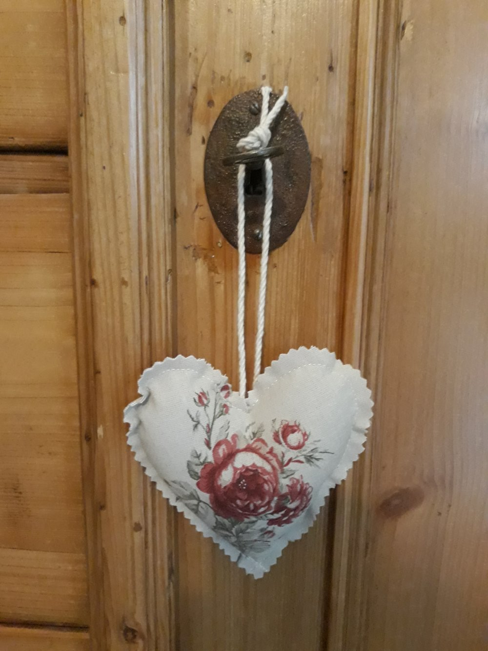 Petit coeur Roses Anciennes
