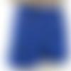 Short denim bleu