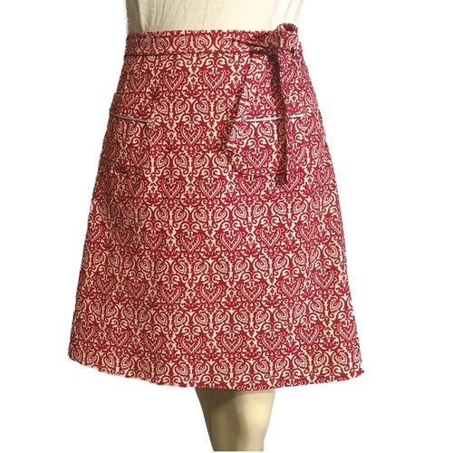 Petite jupe velours