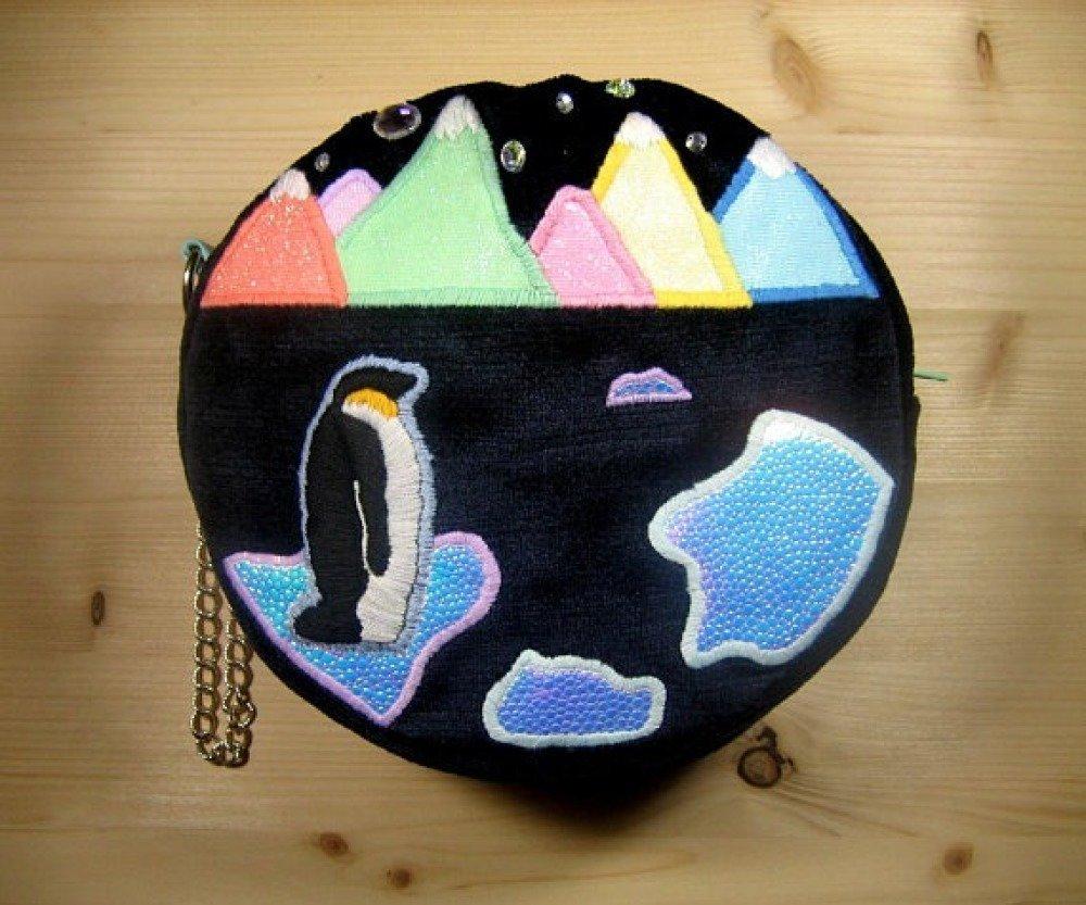 "Pochette ronde "" Iceberg """
