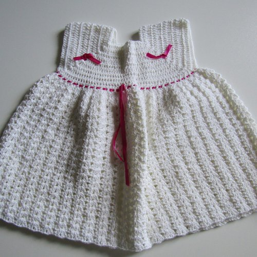 Robe de cérémonie pour bébé de 12 mois
