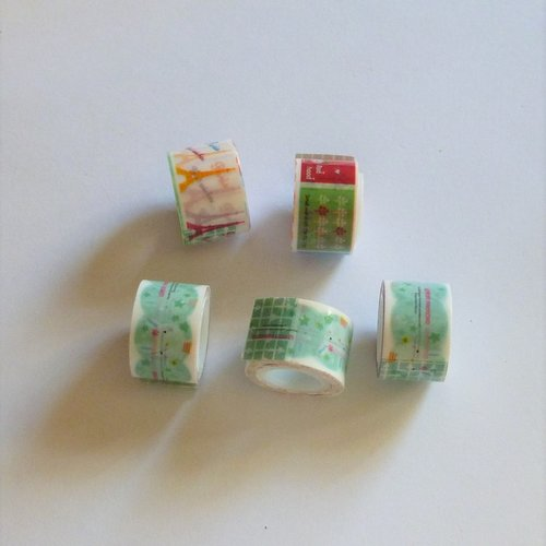 5 ruban adhésif masking tape 12mm