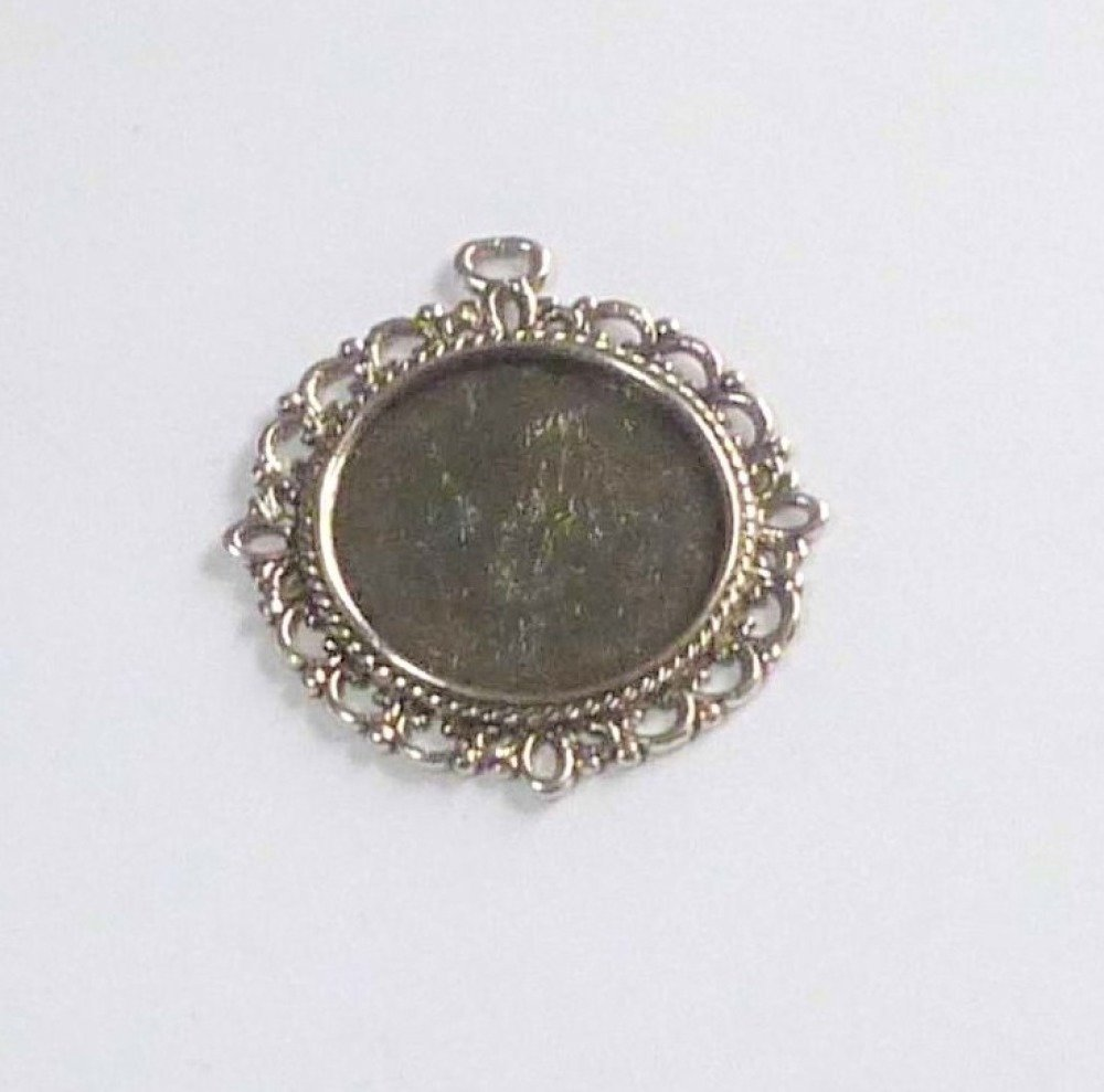 Support cabochon 20mm ronds
