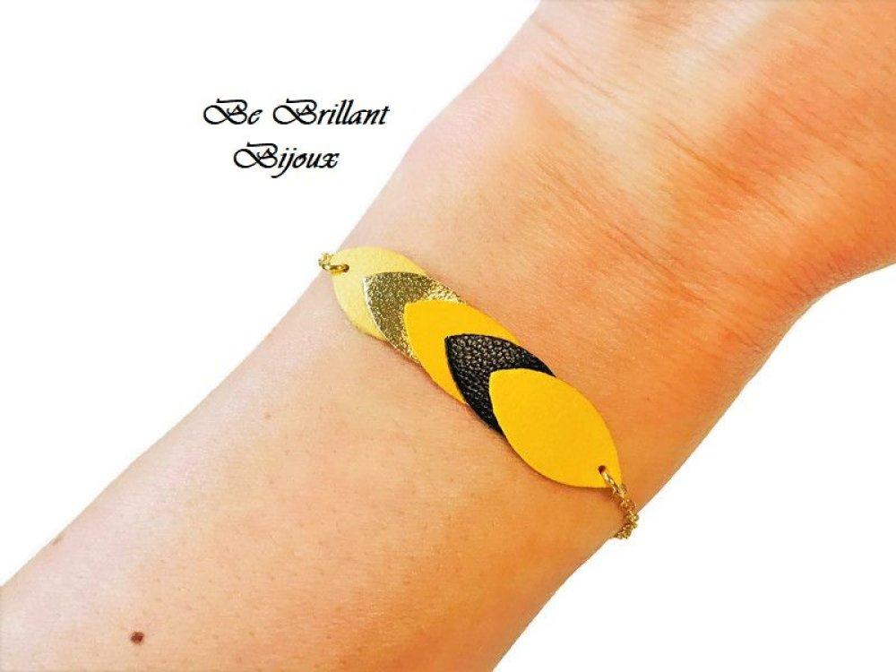 bracelet cuir femme original