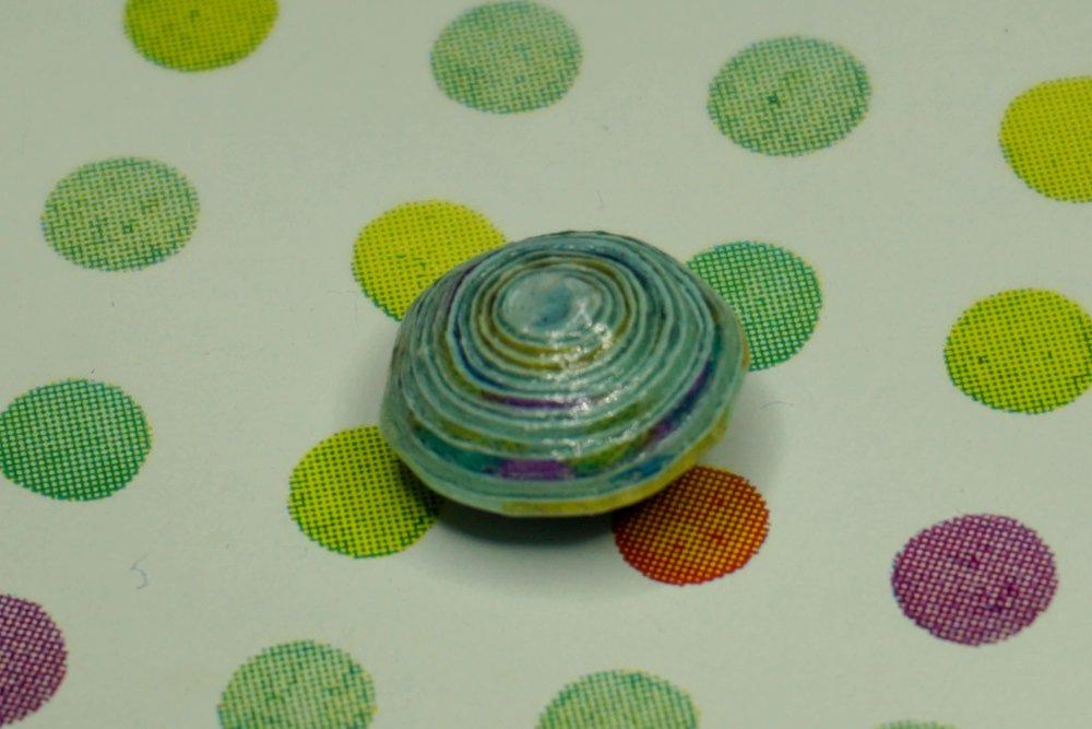 Perles de Papier Fait Main,Création de Bijoux.