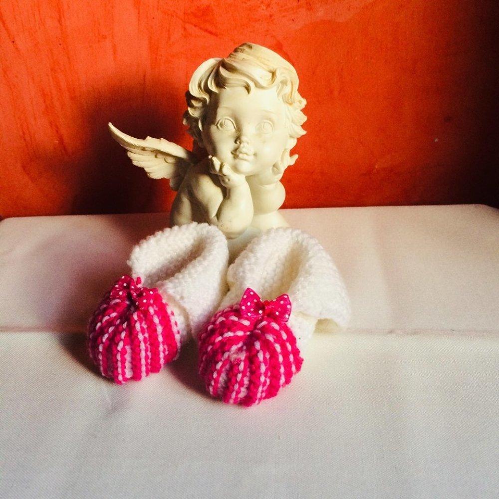 chaussons bébé irlandais 1/3 mois