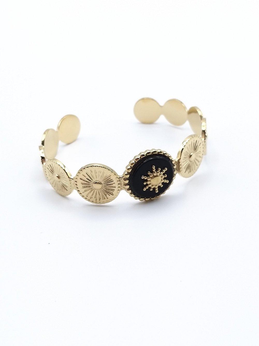 Bracelet jonc Soleil