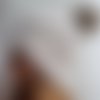 Bonnet adulte laine fait main taupe clair ou gris anthracite