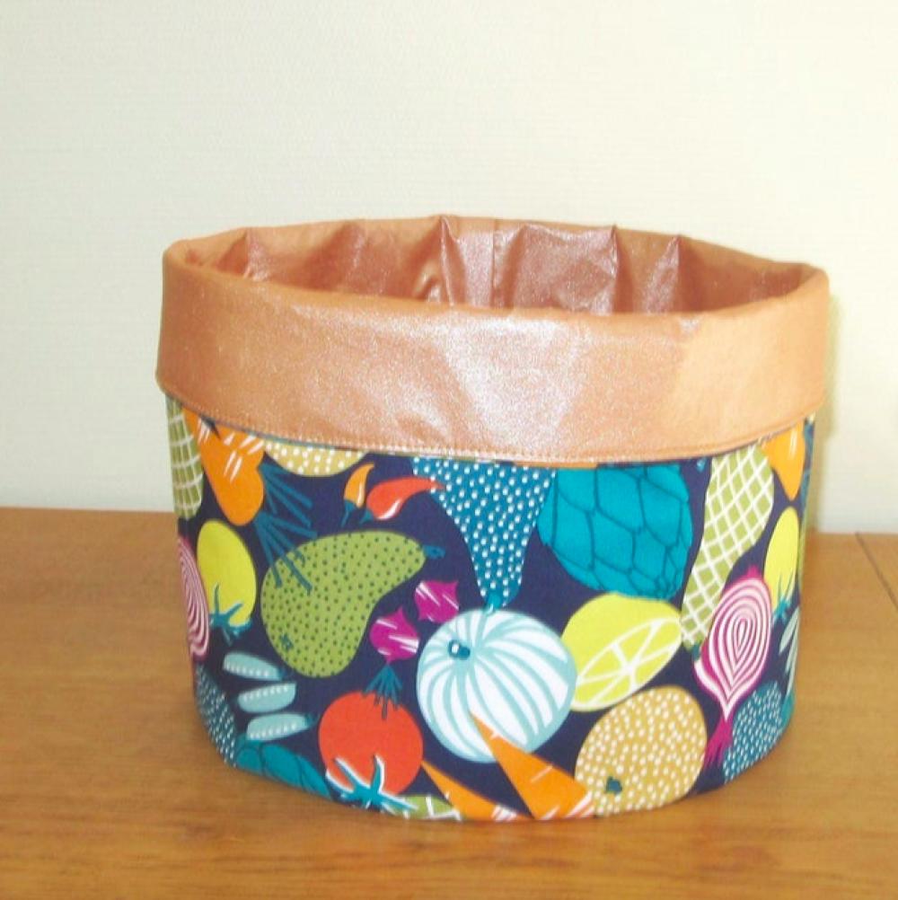Tissu scintillant, couleur Cuivre, Frou-Frou