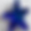 Pendentif etoile de mer en verre swarovski- bleu