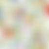 Tissu michael mille, motif exotique, paradise - 50x110cm (2 fat quarters)