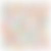 Tissu michael miller fleurs sauvages - 110x50cm (2 fat quarters)