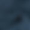 Tissu double gaze coton bleu jean - 135x 50cm