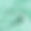 Tissu double gaze coton vert menthe - 135x 50cm