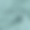 Tissu double gaze coton vert aqua - 50cm