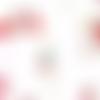 Tissu michael miller dolls - les poupées - 110x50cm (2 fat quarters)