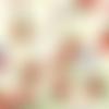 Tissu michael miller casse noisette - 110x50cm (2 fat quarters)