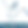Cordon liberty margaret annie ultramarine - 1m