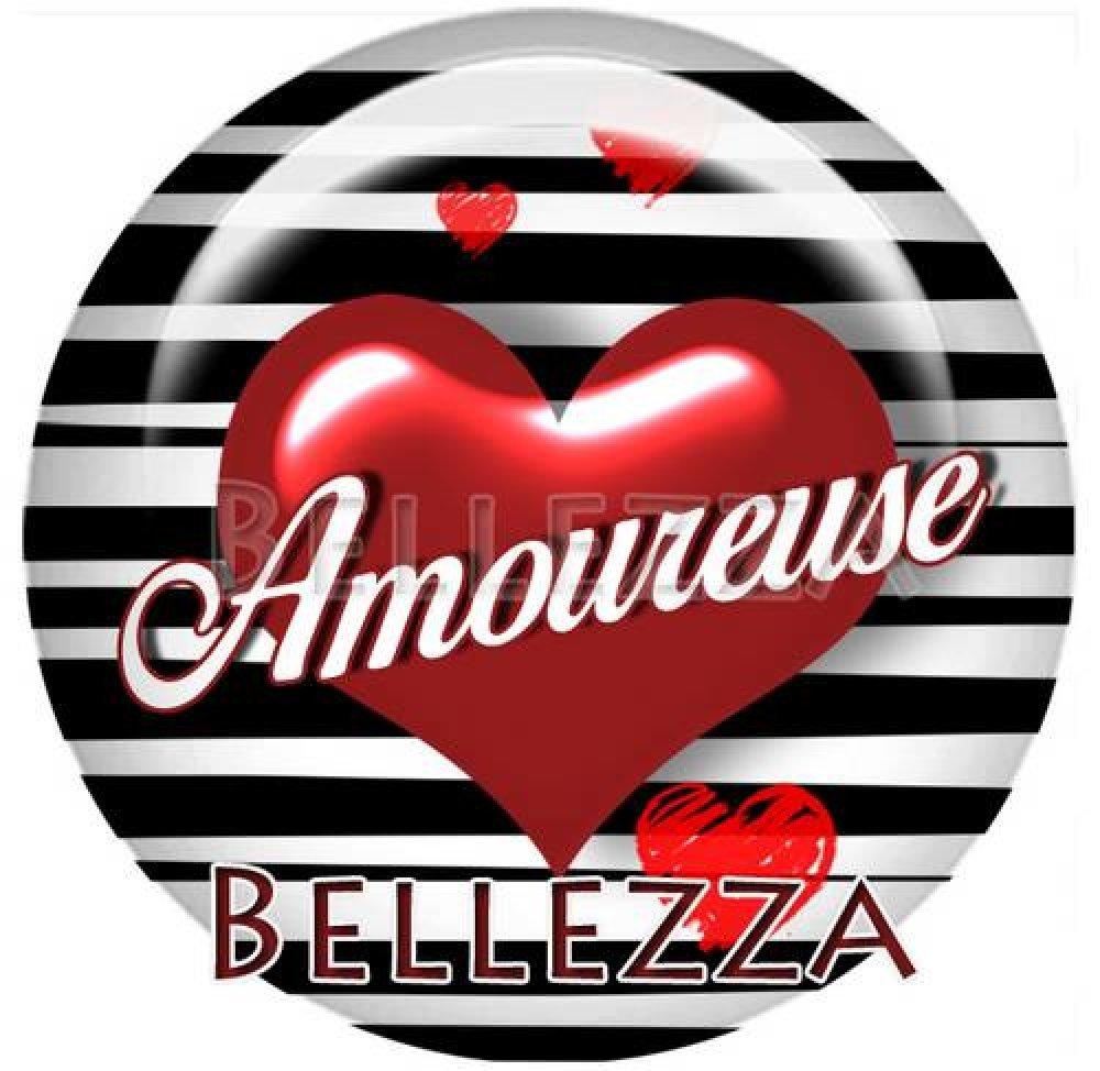 Cabochon résine 25mm, saint valentin, amour, coeur love, Ref:20196