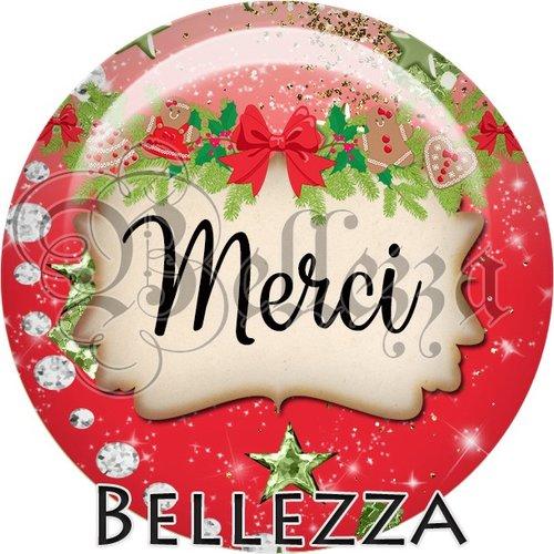 Cabochon résine 25mm, noël, joyeux noël, merci, fêtes de fin d'année, hiver, sapin, flocons, événementiel