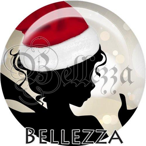 Cabochon résine 25mm, noël, magique fée, ange,fêtes de fin d'année, hiver, sapin, flocons, événementiel