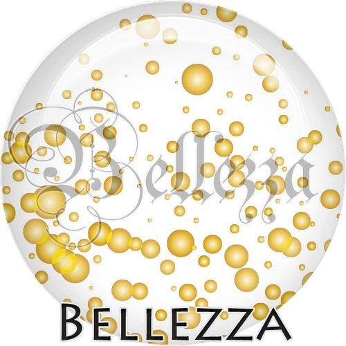 Cabochon résine 25mm, bonne année,fêtes de fin d'année, hiver, confettis, champagne, événementiel