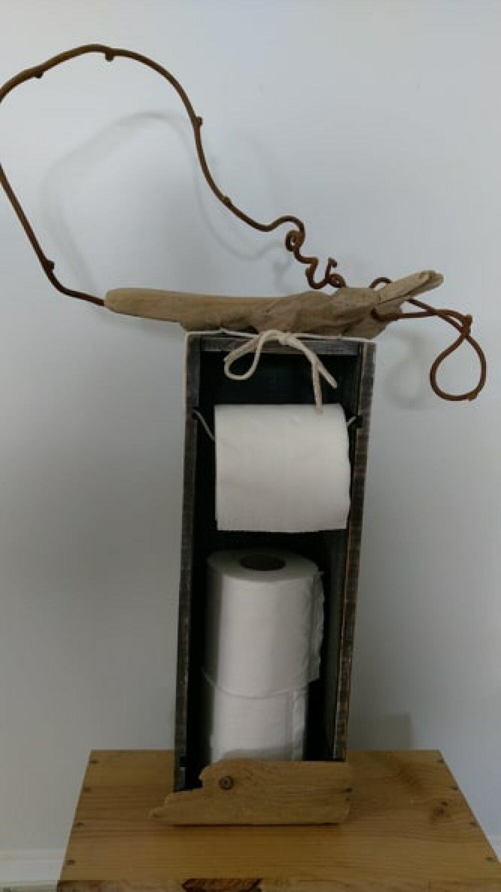 Bois Flotté Porte Photo porte papier wc déco bois flotté