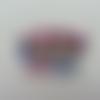 Minnie mickey cabochon plat en résine  baby rose et bleu   38*32mm