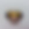 Cabochon minnie plat en résine 34*35mm jaune